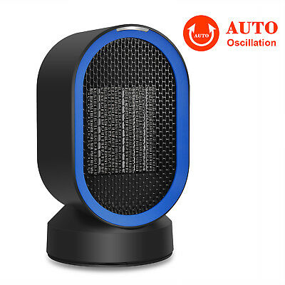 Protable Electric Ceramic Space Heater PTC Heating Warmer Fan Room Office Blower