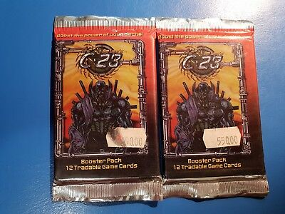 Jim Lee's C23 (2 Avaiable) Factory Sealed Boosters