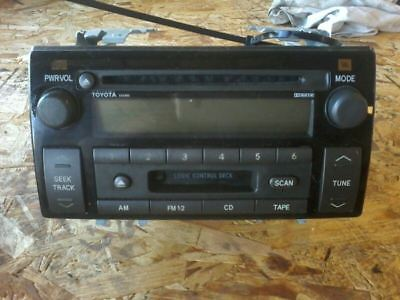 2002 Toyota Camry AM FM Cassette CD Player Radio Receiver OEM