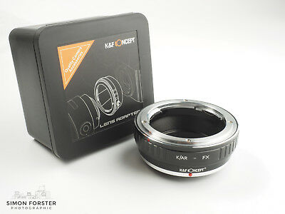 K&F Concept Konica to Fuji FX Adapter Konica AR to FX Adapter