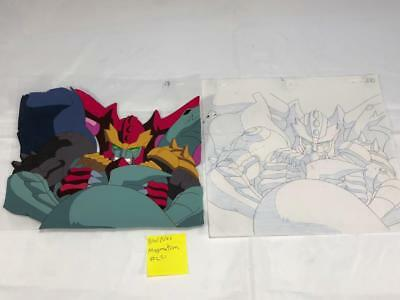 TRANSFORMERS JAPANESE BEAST WARS NEO MAGMATRON ANIMATION ART CELL cel LOT 221