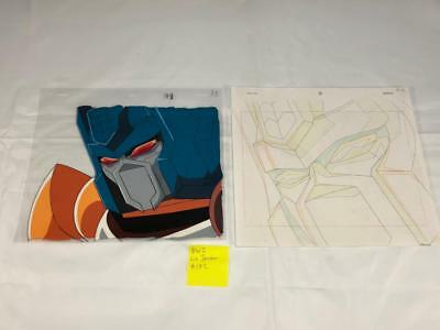 Transformers Japanese Beast Wars 2 Lio Junior Animation Cell Art Lot 172 Cel