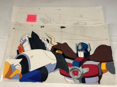 TRANSFORMERS JAPANESE BEAST WARS NEO BIG CONVOY ANIMATION ART CELL cel LOT 204
