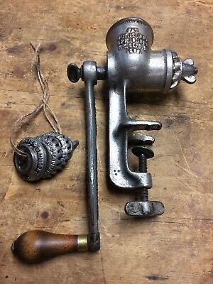 Vintage No. 1 Universal Food Chopper Grinder by the L.F. & C. New Britain Ct