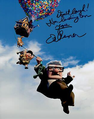 Ed Asner Signed 8x10 Photo Disney Up COA