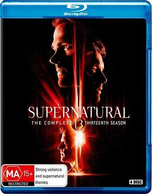 SUPERNATURAL 13 (2017-2018) Horror Demons Action TV Season Series Au RgB BLU-RAY