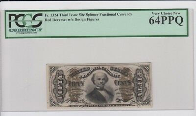 Fractional Currency Civil War era item to 1870s PCGS Graded very ch. new 64PPQ
