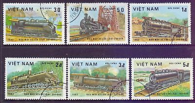 Vietnam  1983  Trains, CTO.