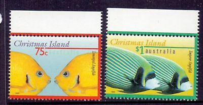 Christmas Island  1995  Fish I, MNH.