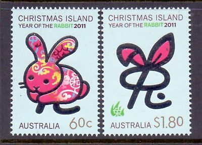 Christmas Island  2011  Year of the Rabbit, MNH.