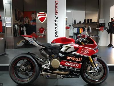 Ducati Panigale 1199 S With Chaz Davies Wsbk Colours