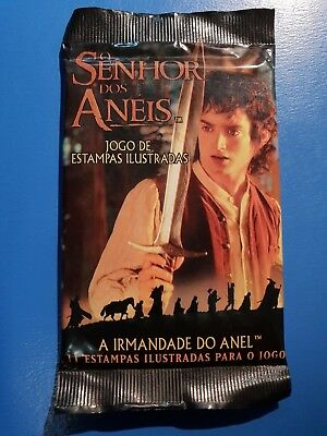 Lord Of The Rings Trading Card Game Factory Sealed Booster Portuguese