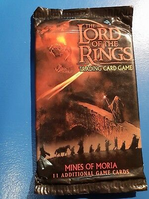 Lord Of The Rings Trading Card Game Mines Of Moria Factory Sealed Booster