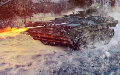 """2682 Hot Video Game - World of Tanks 14 22""""x14"""" Poster"""