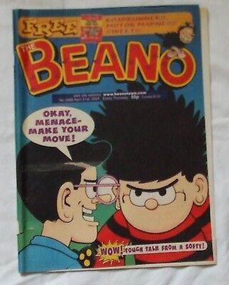 2001 THE BEANO Comic No. 3066