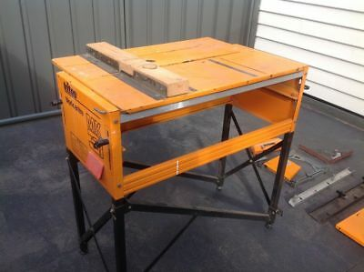 Triton MK3 Workcentre/ Work Bench & 235mm Saw + Router Table