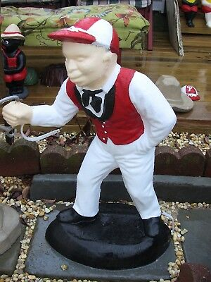 Lawn Jockey. White Boy Concrete Statue.......pickup Here In West Creek N.j.