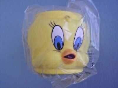 Collectible 1994 Warner Bros. Looney Tunes Tweety Bird Mug New in Wrapper