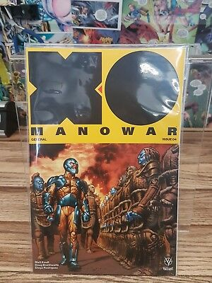 X-O Manowar EMPEROR -  (2017) - Issue #4 - Mint condition
