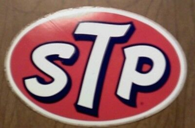 VINTAGE Lot of 40 STICKERS  Original STP Racing Car Stickers Decals 1960s - 70s