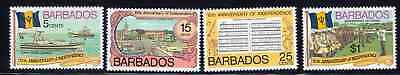 Barbados Scott Cat. 448-451 MNH (SG 569-572)