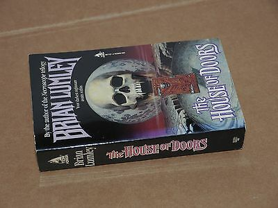 THE HOUSE OF DOORS by Brian Lumley, rare US Tor horror pulp vintage pb 1st Editi