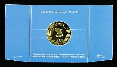 RARE! Wisconsin Medal – Franklin Mint Treasures of the States of the Union
