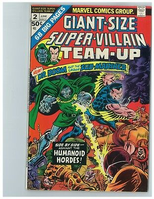 Giant Size Super-Villain Team-Up # 2 - 1975 - 10.00 Silver Comicon Bargain Box