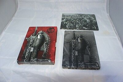 Gears of War 2 -- Limited Edition (Microsoft Xbox 360, 2008) Missing Extras