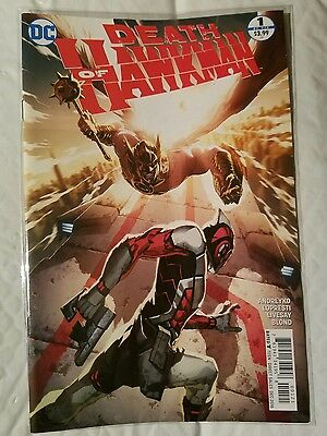 DEATH OF HAWKMAN #1 (2016) DC 1st print Tan VARIANT cover unread NM