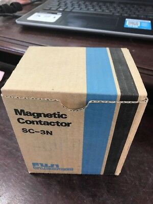 New Fuji Electric Sc-3N Magnetic Contactor 2Nc2H0222 Sc3N