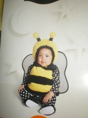 baby girls bumble bee halloween costume size 0 6m new plush