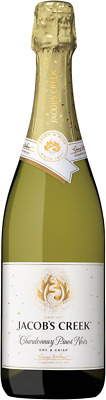 Jacob's Creek Sparkling Chardonnay Pinot Noir NV (6 x 750mL), SE AUS.