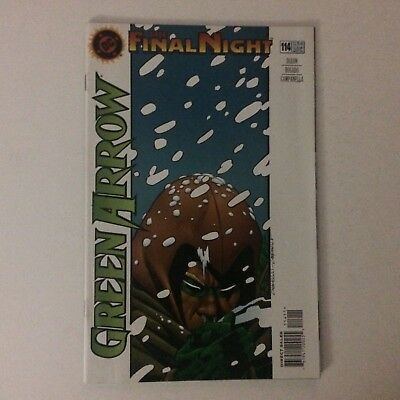 GREEN ARROW # 114  - DC Nov 1996  The Final Night
