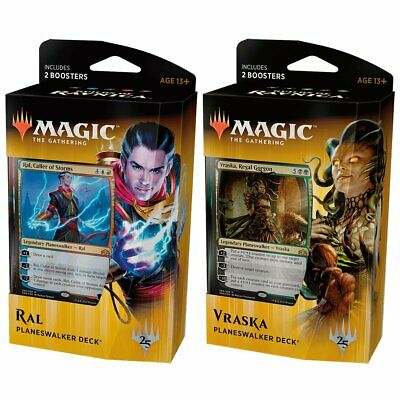 Magic the Gathering MTG Guilds of Ravnica Planeswalker Pair Both Decks