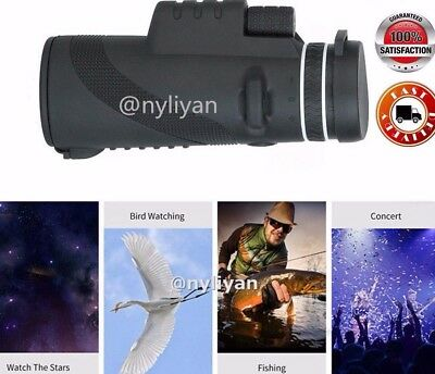 40x60 Zoomable Monocular HD Optic Telescopes Hunting sports Bird Watching Sports