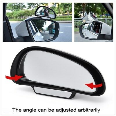 2 PCS Rear View Mirror (Left+Right) Adjustable   Side Stop Line Reflection Angle