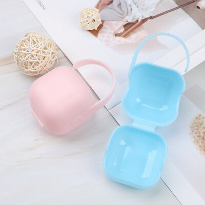 Pacifier storage box nipple dustproof soother container portable holder