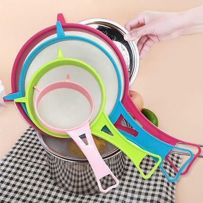4PCs Plastic Kitchen Strainer Multi Purpose Home Tools Sieve Accessories JAZZ