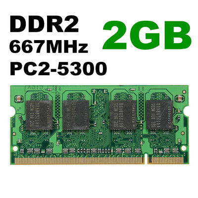 4GB/ 2G Fit Laptop Computer DDR2-667MHz PC2-5300 SODIMM Memory RAM 200pin Non-EC