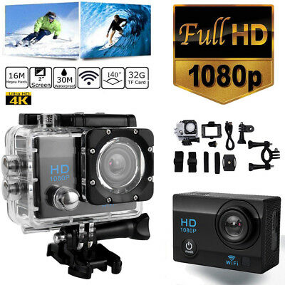 SJ9000 Wifi 1080P 4K Ultra HD Sport Action Camera DVR DV Camcorder Waterproof CO