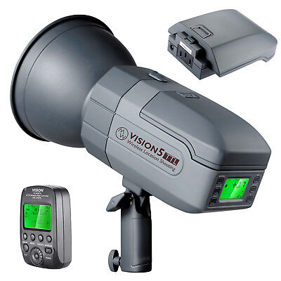 Neewer 400W TTL HSS Outdoor Studio Flash Strobe with Wireless Trigger for CANON