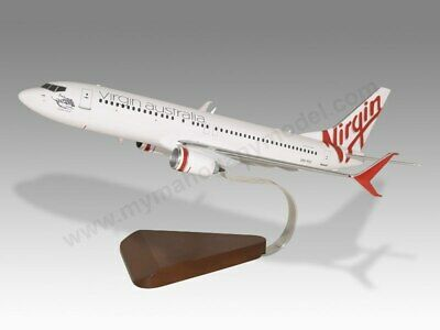 Aeronautica Models Smart Boeing 747-400 Air India Solid Mahogany Kiln Dried Wood Desktop Airplane Model