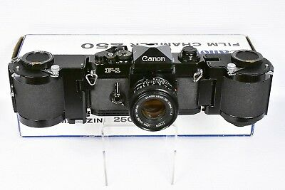 Minty! Canon Film Chamber 250 All New Foams Fitted For Early Original F-1 Camera