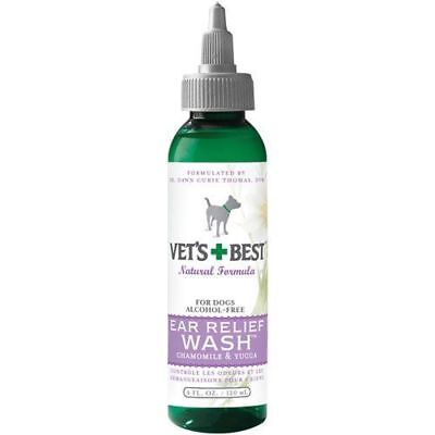 Vets Best Non-stinging alcohol-free formula Ear Wash for Dogs in 4 or 16 ounce