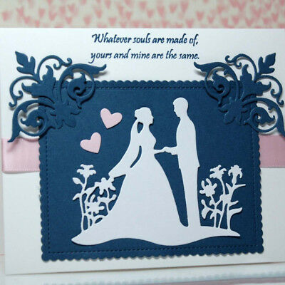 Wedding metal cutting die stencil scrapbook album paper card embossing craft MW