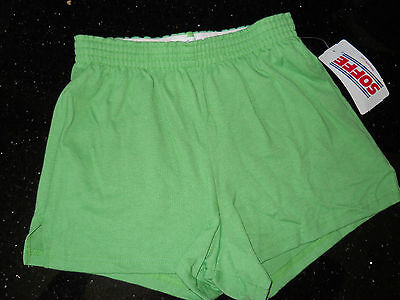 NWT ~ Soffe Kids' Core Essentials Authentic Green Short ~ Youth Size XL