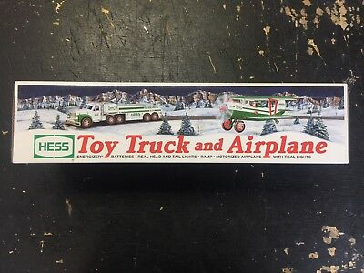 2002 Hess Toy Truck And Airplane Nib