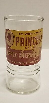 RARE Vintage Advertising Jelly Jar w/ Original Label glass by Anchor Hocking