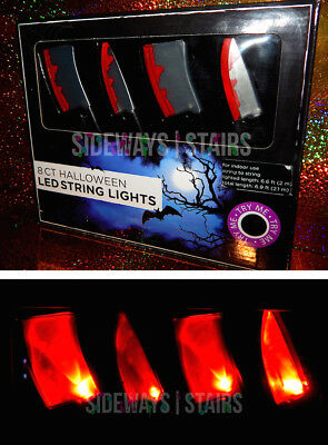 "BLOODY KNIFE LIGHTS W/ MUSIC ""Halloween Theme"" myers horror light set sound NEW"